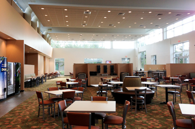 Lone Star College System Dining Hall Renovation At The