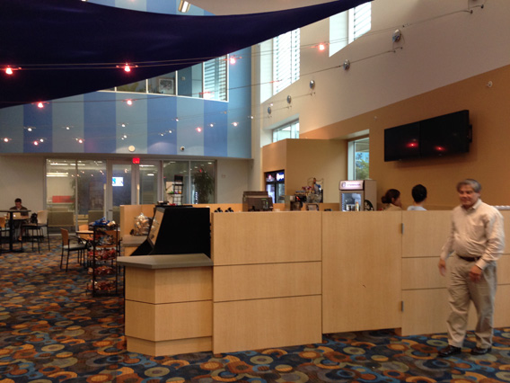 Lone Star College System Cyber Cafe Renovation At The CyFair